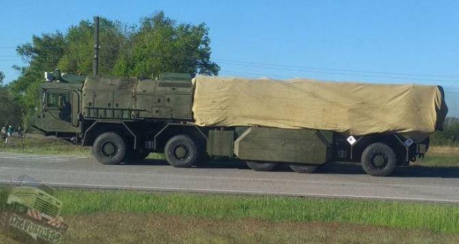 Под Харьковом заметили новый ракетный комплекс
