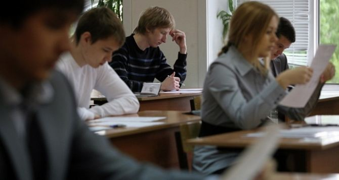 В самопровозглашенной ДНР началась государственная итоговая аттестация выпускников