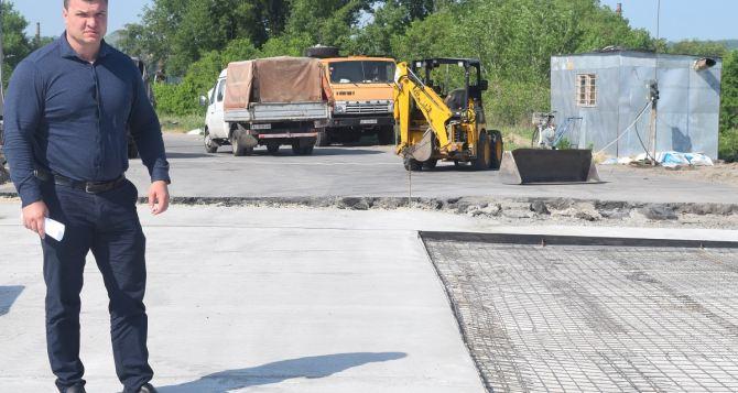 Ремонт путепровода на Объездной дороге в Северодонецке завершат в середине лета
