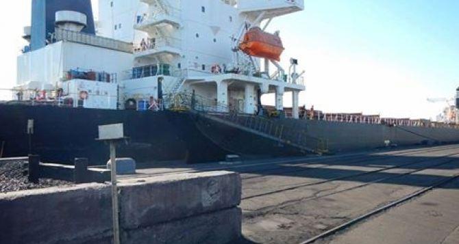 В Украину прибыл уголь из ЮАР