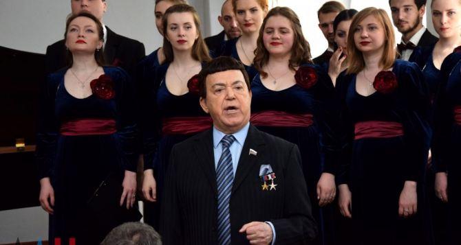 Иосиф Кобзон приехал в Донецк на вокальный фестиваль «Я люблю тебя, жизнь»