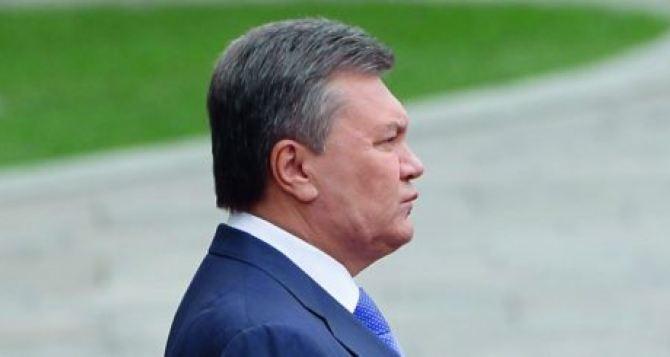 Янукович просит Киев допросить его через МИДРФ