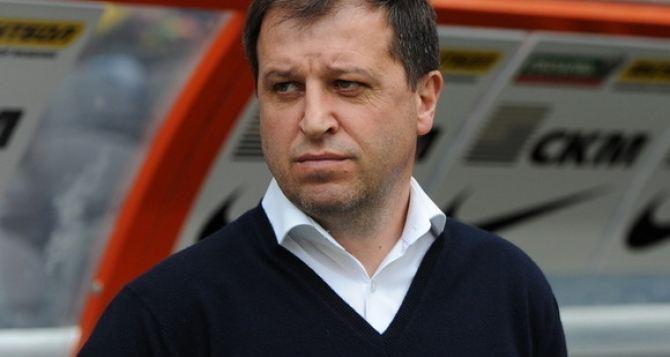 Главный тренер луганской «Зари» поздравил всех с бронзой
