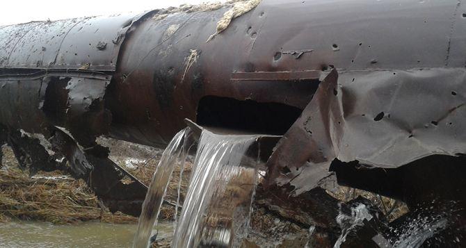 Донецкая фильтровальная станция прекратила подачу воды в Авдеевку