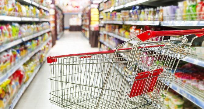 Цены на продукты в Луганске