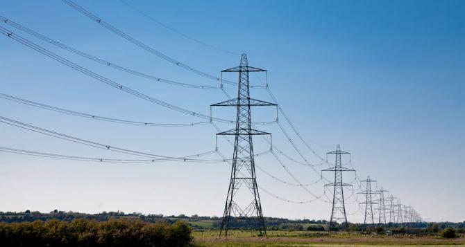 В Лутугинском районе подорвали опору линии электропередач