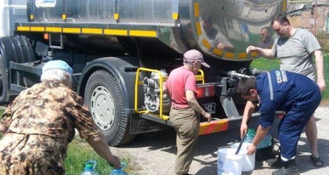 В Авдеевке осталась тысяча кубометров воды