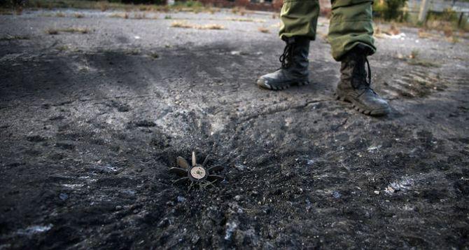 В Луганской области за сутки зафиксировано 22 обстрела