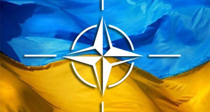 Цель Украины— вступление в НАТО. ВР проголосовала «ЗА»