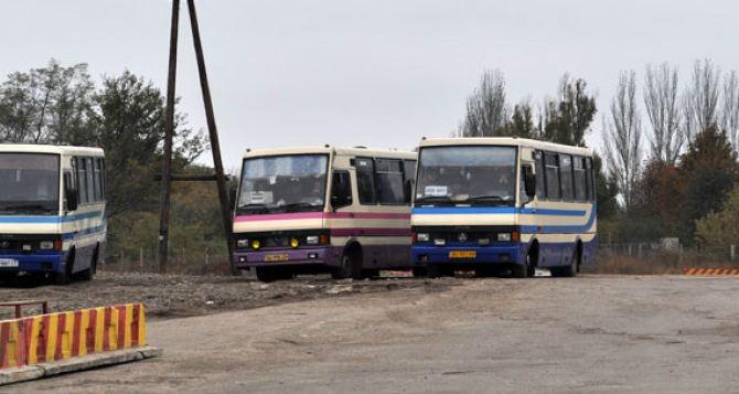В самопровозглашенной ДНР запустили два новых автобусных маршрута к КПВВ