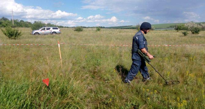 В Луганской области за сутки обнаружено 66 взрывоопасных предметов