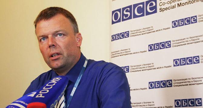 Замглавы СММ ОБСЕ 20июня посетит Донецк