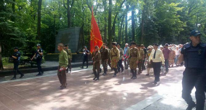 В Харькове на Мемориале Славы усилили охрану