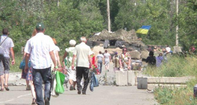 Пункт пропуска в Станице Луганской за сутки пересекли 6550 человек