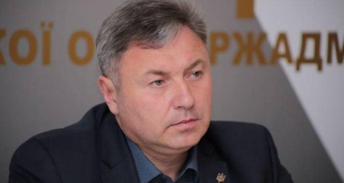 Луганский губернатор уехал в Киев решать проблемы с шахтерами и водой