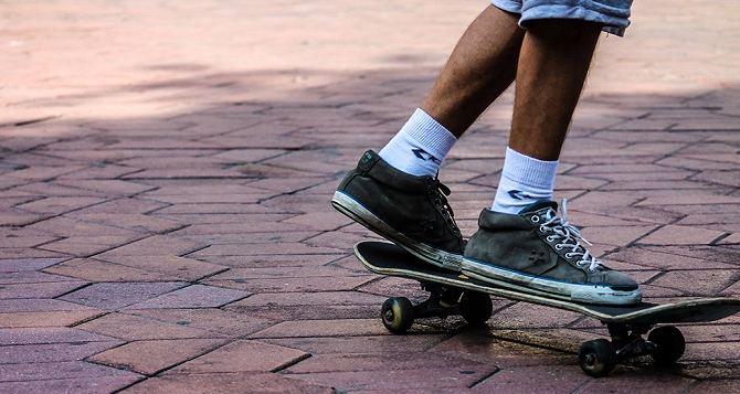 В Луганске ко Дню города откроют скейтпарк