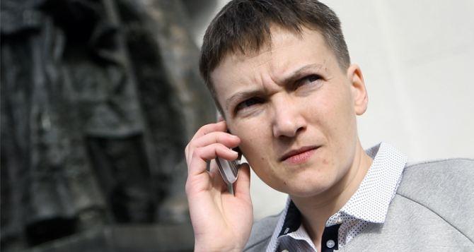 Савченко снова ездила в  ЛДНР