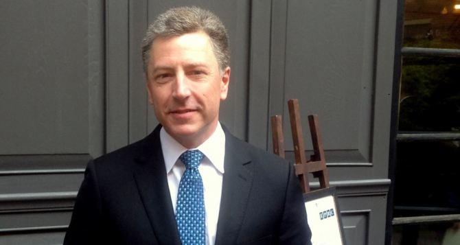 Волкер встретится с представителями России по Донбассу
