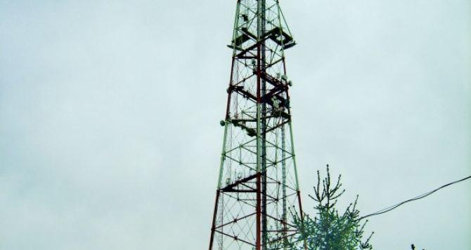 Новая телевышка вЛуганской области будет транслировать украинские каналы на«ЛНР»