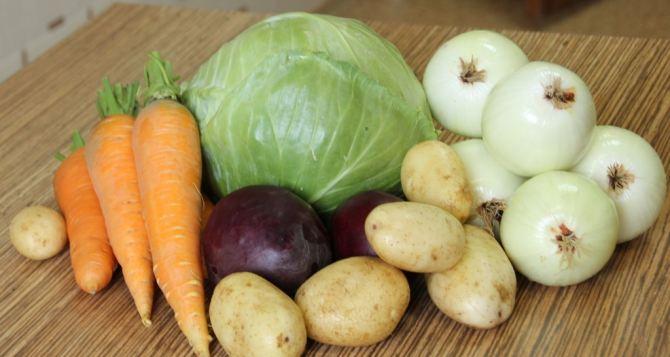 В Луганской области снизились цены на овощи