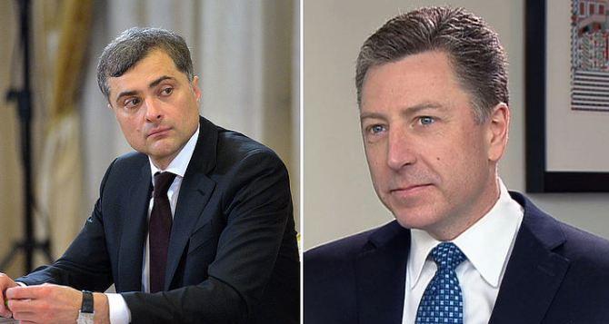 Журналисты узнали вероятную дату встречи Волкера и Суркова