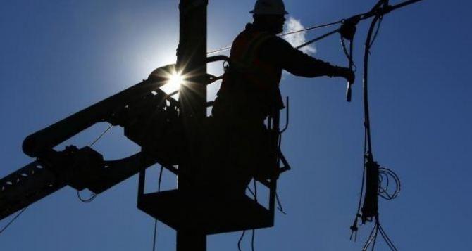Потребителям Луганщины ограничат электроснабжение на 6 дней