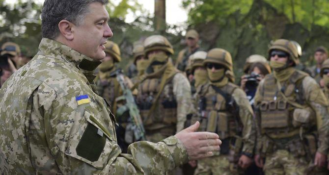 В Луганской области 22августа ожидают визита Порошенко