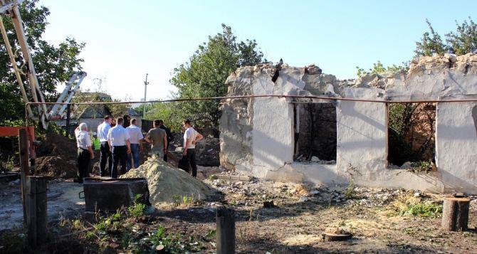 В горадминистрации Луганска рассказали сколько домовладельцев получили стройматериалы на восстановление жилья