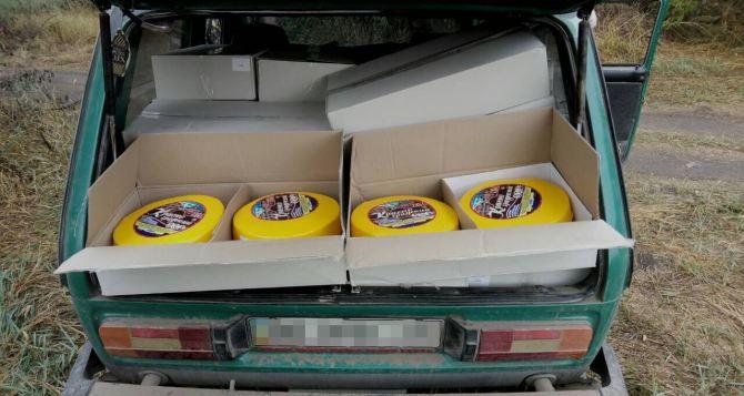 В самопровозглашенную ЛНР не доехали мак и полтонны сыра (фото)