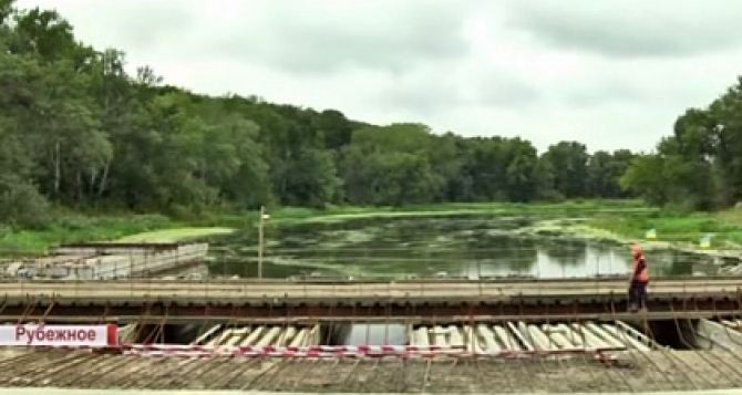Открытие Томашевского моста между Лисичанском и Рубежным откладывается до октября