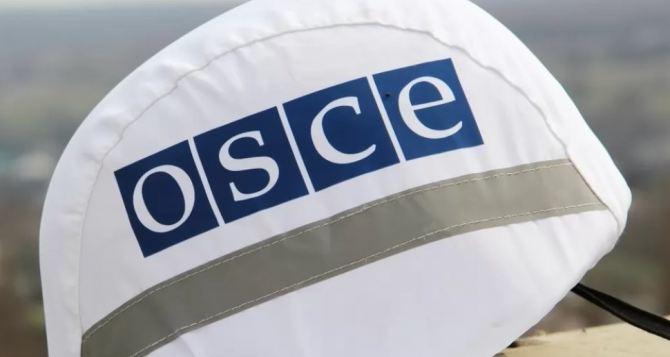 ОБСЕ зафиксировала неотведенное вооружение в Луганской области