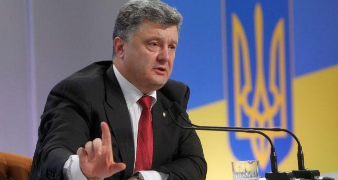 Украина не сможет вернуть Крым. —Порошенко