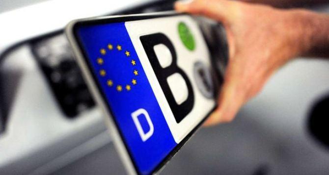 В Украине озвучили сумму на растаможку авто из Европы