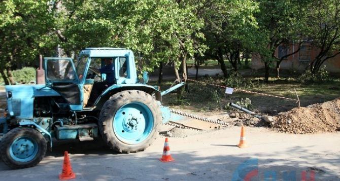 В Луганске заменили почти 3 км водопроводных сетей