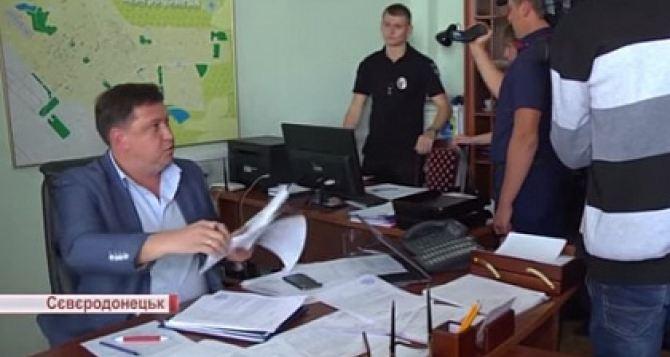 Заместителю мэра Северодонецка вручено уведомление о подозрении