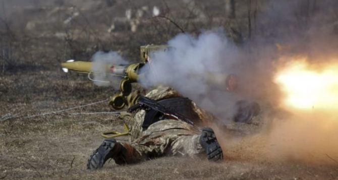 На луганском направлении увеличилось число обстрелов