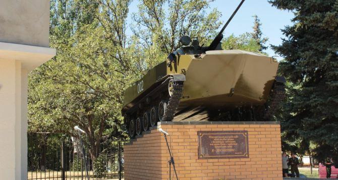 Жертв в результате подрыва памятника в Луганске нет