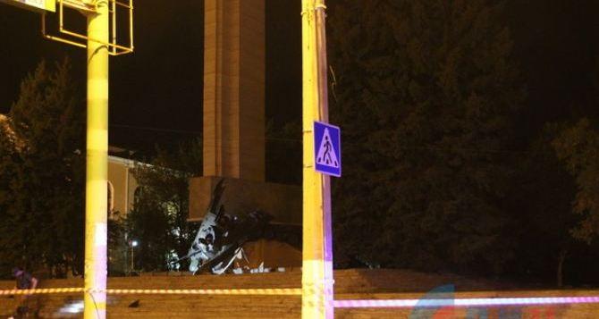 Мощность подорванного у памятника в Луганске взрывного устройства составила более 5кг