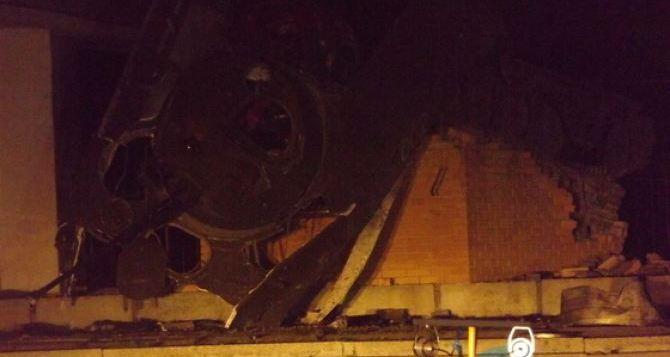 В Луганске озвучили версию о подозреваемых в подрыве памятника