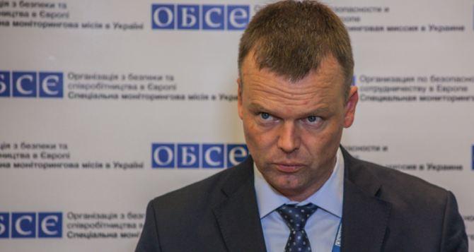 Тема ввода миротворцев на Донбасс не должна отвлекать стороны от соблюдения Минских соглашений. —ОБСЕ