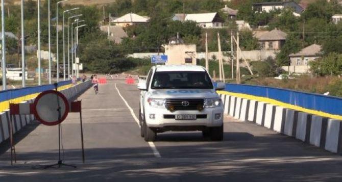 В Старобельске открыли мост через Айдар при поддержке японского правительства (фото)