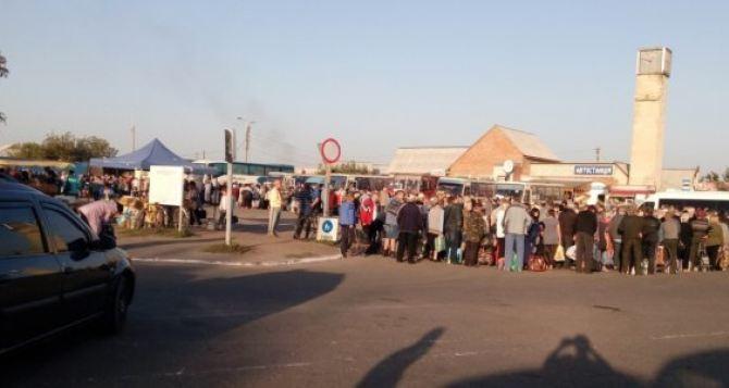 ОБСЕ установила камеру наКПП «Станица Луганская»