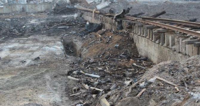 Как выглядит склад боеприпасов в Сватово спустя два года после взрыва (видео)
