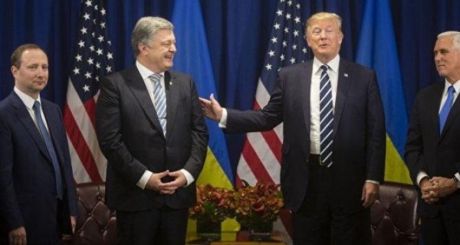 Трамп и Порошенко обсудили Донбасс на встрече в Нью-Йорке