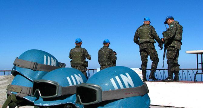 В Кремле заявили, что миротворцев ООН на границе с Россией не будет