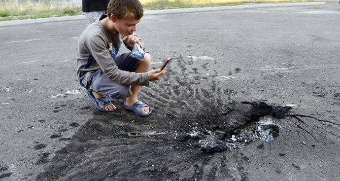 Пятеро детей из зоны АТО получат статус участника войны