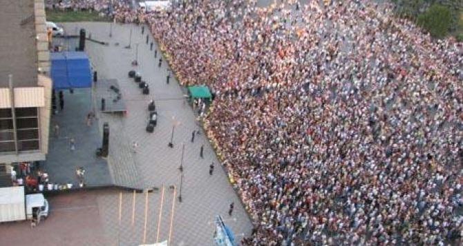 В Луганске 29сентября выступят Стас Пьеха и Марк Тишман