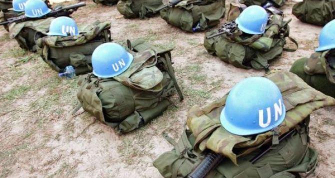 Украина не будет согласовывать с ЛНР и ДНР мандат миротворческой миссии. —Геращенко