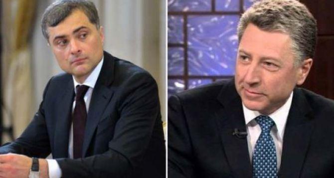 Сурков и Волкер встретятся в октябре, чтоб обсудить вопрос миротворцев на Донбассе