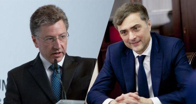 Сурков и Волкер обсудят Донбасс в Сербии